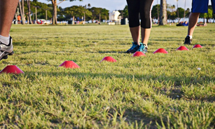 Superhuman Fitness - Honolulu: Four or Eight Group FitCamp Training Sessions at Superhuman Fitness (Up to 50% Off)