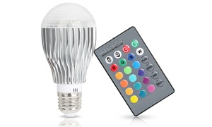 Magic Color Changing LED Light Bulb with Remote Control at Magic Color Changing LED Light Bulb with Remote Control, plus 6.0% Cash Back from Ebates.