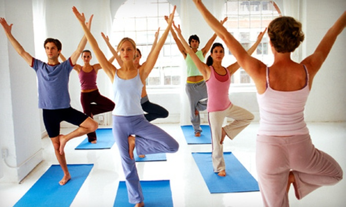 Yellow Yoga Studio - Covina-Valley: $48 for $110 Toward One Month of Yoga and Pilates Classes