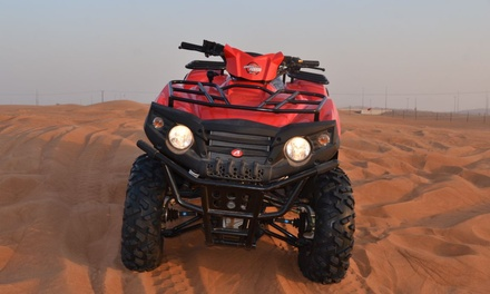30  or 60 Minute of Quad Biking or Double 4x4 Experience for Up to Six at Al Tamayuoz Motorcycle Rental (Up to 47% Off)