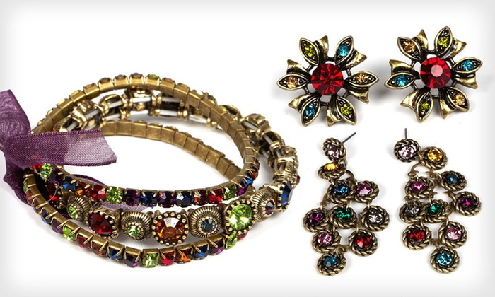 Jadore Bijoux Fashion Jewelry: $16 for Jadore Bijoux Fashion Jewelry ($65 List Price). 34 Styles Available. Free Shipping and Free Returns.