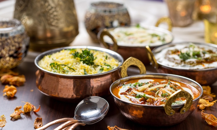 Mint Leaf Indian Cuisine - Smyrna: One Ice Cream or Dessert  with Purchase of 2 Entrees at Mint Leaf Indian Cuisine