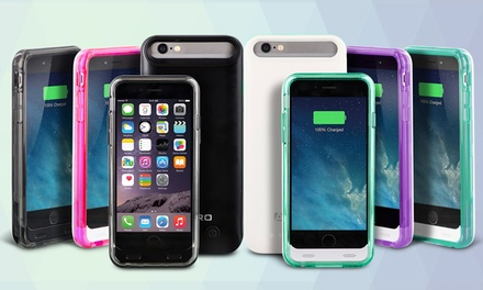 Aduro PowerUp Fuel Jacket Backup-Battery Case for iPhone 5/5s, 6, or 6 Plus