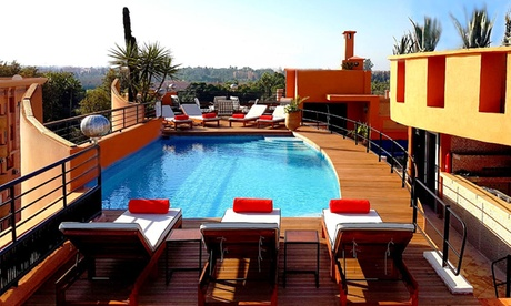 Marrakech: 1 a 7 noches con desayuno para 2 adultos y niño menor de 12 años en el Hotel Fashion Marrakech