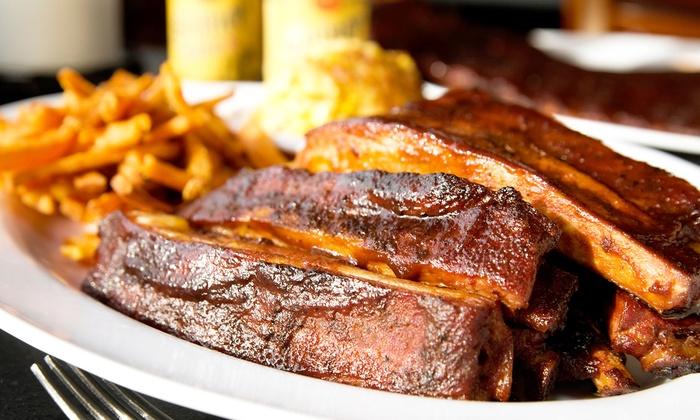 Big Daddy's Bar-B-Q - Warrior: Barbecue at Big Daddy's Bar-B-Q (Up to 57% Off). Two Options Available.