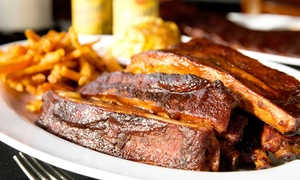 Big Daddy's Bar-B-Q: Barbecue at Big Daddy's Bar-B-Q (Up to 57% Off). Two Options Available.