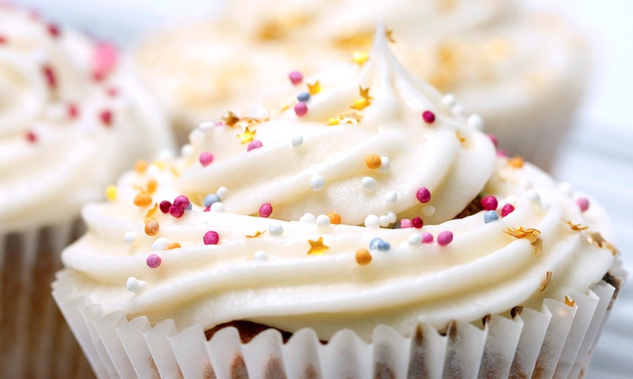 Sunkissed Bakery - Hampton Roads: $6 for One Dozen Mini Cupcakes from The Sunkissed Bakery (50% Off)