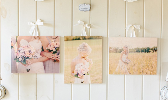 PhotoBarn: Custom Wood Photoboards from PhotoBarn (62% Off). Two Options Available.