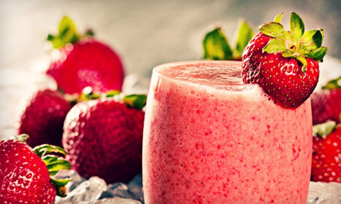 Ashker's Juice Bar - Bistro - Gallery - Buffalo: Four, Six, or Eight Smoothies at Ashker's Juice Bar - Bistro - Gallery (Up to 59% Off)
