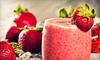Ashker's Juice Bar - Bistro - Gallery - Elmwood,Downtown,Albright: Four, Six, or Eight Smoothies at Ashker's Juice Bar - Bistro - Gallery (Up to 59% Off)
