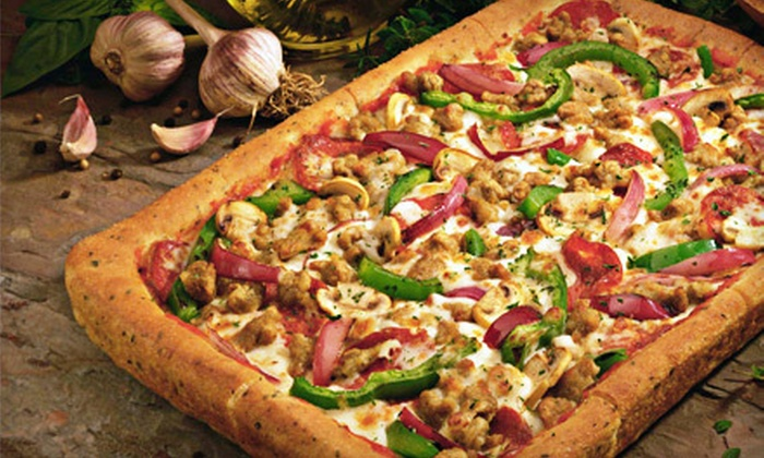 Bella-Roma Pizza - Rocky Hill: $10 for Pizza Dinner for Two with Breadsticks and Drinks at Bella-Roma Pizza in Maryville ($21.16 Value)
