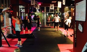 9round 30 Min Kickbox Fitness - Carmel: Two Weeks of Fitness and Conditioning Classes at 9Round 30 Min Kickbox Fitness - Carmel (75% Off)