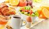 Barista - Ronnenberg: Vital-Frühstück für Zwei oder Vier inkl. Vital-Joghurt und Prosecco bei Barista ab 13,90 € (bis zu 53% sparen*)