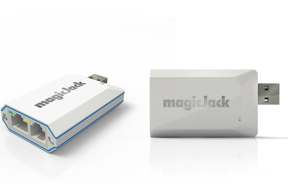magicJack Express VoIP Adapter with Three Months of Unlimited Calling