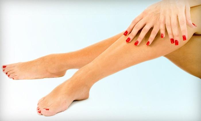 Pamper Me Nail Spa - Pamper Me Nail Spa: One, Two, or Three Gel Mani-Pedis at Pamper Me Nail Spa (Up to 64% Off)