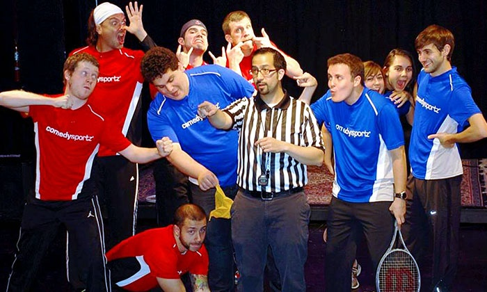ComedySportz Boston - Multiple Locations: ComedySportz Boston at Davis Square Theatre, August 8-November 29 (Up to 50% Off)