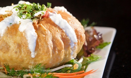 $23 for $40 Worth of Indian Food and Drinks at Tandoori Nights
