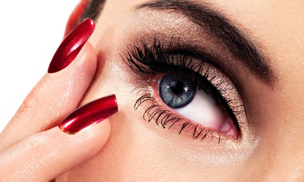 Eyelash Extensions at Authentic Beauty (Up to 64% Off). Two Options Available.