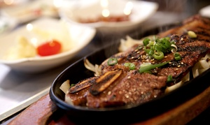 Yori Asian Fusion Restaurant: Korean and Japanese Cuisine at Yori (Up to 47% Off) . Two Options Available.