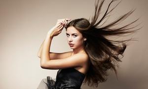 J Miller Salon: Keratin Treatment and Optional Haircut at J Miller Salon (Up to 51% Off)