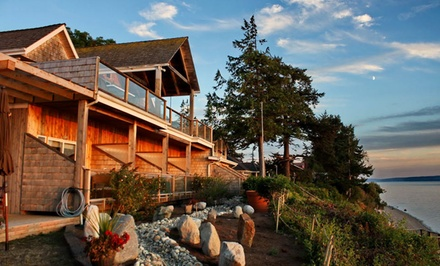 2-Night Stay with Daily Mimosas or Wine and Truffles at Camano Island Inn in Camano Island, WA. Combine Up to 4 Nights.