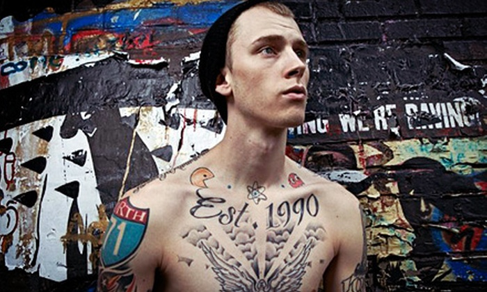 Machine Gun Kelly - Lighthouse Point: Machine Gun Kelly at Club Cinema on Saturday, July 27, at 9 p.m. (Up to 46% Off). Two Options Available.
