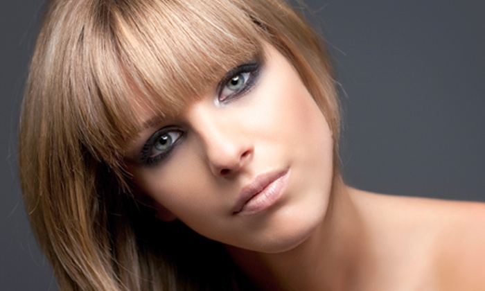 Twilight salon - Manchester: Cut and Finish With Half Head of Highlights £29 at Twilight Salon (65% Off)
