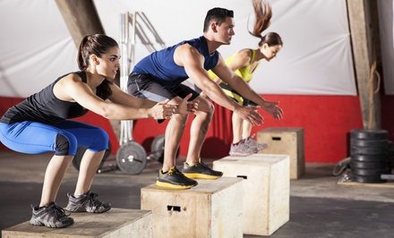 One- or Three- Month Membership with Four Personal-Training Sessions at CrossFit Refinery (Up to 70% Off)