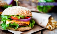 Choice of Burger with Fries and Soft Drink for Up to Four at Soho Bar and Eatery (Up to 65% Off)