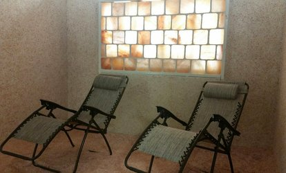 image for One or Three Salt-Room Sessions at Affordable...Salt Therapy Spa (Up to $49 Off)