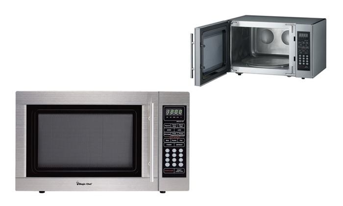 Magic Chef 1 100 Watt Countertop Microwave Oven