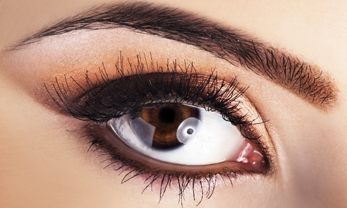 Alazzo Med Spa - Urbana: Permanent Upper or Lower Eyeliner, or Permanent Eyebrow Makeup at Alazzo Med Spa (Up to 56% Off)