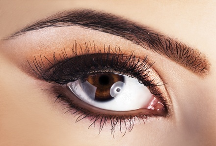 Permanent Upper or Lower Eyeliner, or Permanent Eyebrow Makeup at Alazzo Med Spa (Up to 56% Off)