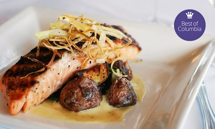 Contemporary Southern Dinner for Two or Four at Saluda's  (Up to 55% Off)