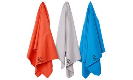 Waves Micro Towels