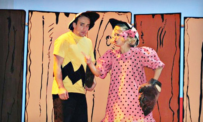 """Crown Uptown Theatre - College Hill: $42 for Dinner-and-Theater Performance for Two to See """"You're a Good Man Charlie Brown"""" at Crown Uptown Theatre (Up to $83.90 Value)"""