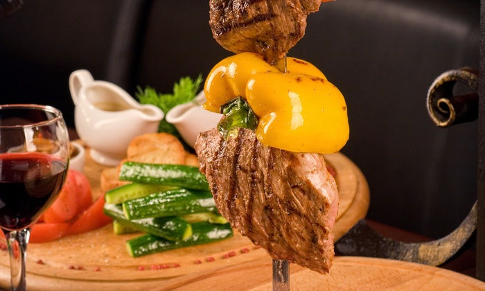 Rodizio Grill Allentown - Allentown: Rodizio Dinner for 2 or 4 with Limeade and Mousse at Rodizio Grill  (40% Off)