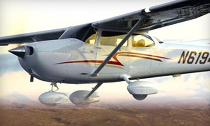 Eagle Aircraft - Washington: One-Hour Chicago-Skyline Flight Tour for Two or Three from Eagle Aircraft (Up to 51% Off)