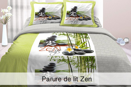 parure de lit imprim e groupon shopping. Black Bedroom Furniture Sets. Home Design Ideas