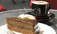 Coffee and Cake for Two or Four at Brewhouse Arts Centre and Cafe (Up to 38% Off)