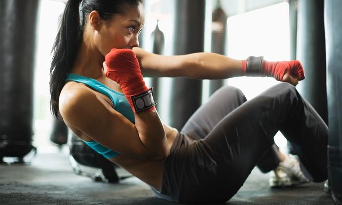 Prodigy Training Center - Springboro: One Month of Cardio, Yoga, and Kickboxing Classes or Prodigy Fit Training at Prodigy Training Center (57% Off)