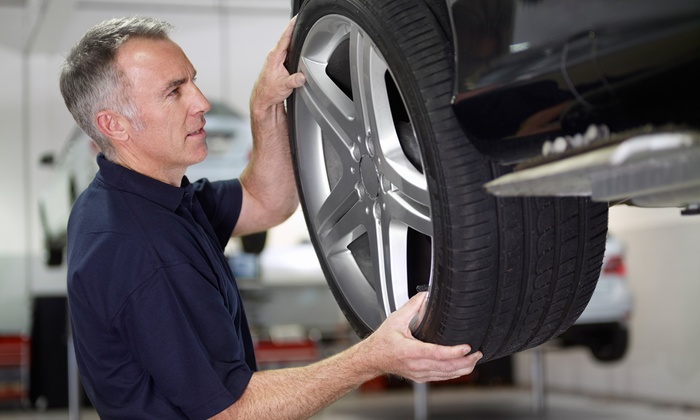 Meyerland Collision - Meyerland Area: $79 for a Wheel Alignment and Tire Rotation Package at Meyerland Collision ($169.98 Value)