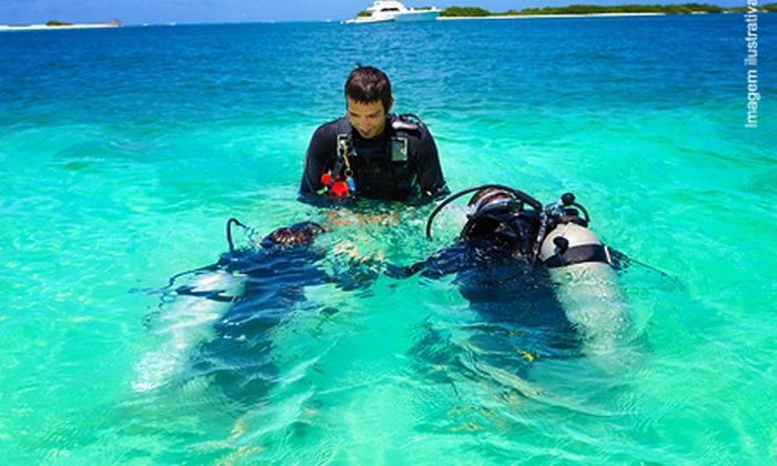 Diving Club - Niterói: Diving Club: mergulho no Arquipélago das Cagarras para 1, 2 ou 4 pessoas a partir de R$ 179 – parcele sem juros
