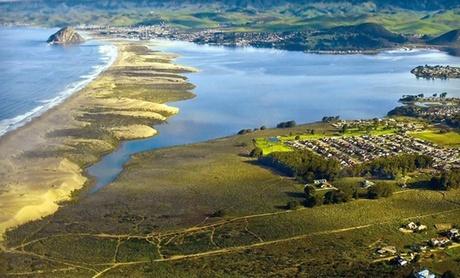 Golf Resort on California Coast