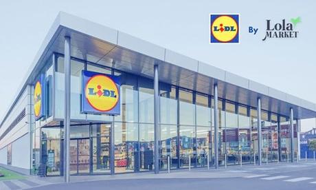 Paga 1 € en y consigue 3 envíos a domicilio gratis en compras de Lidl con Lola Market