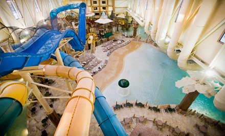 Columbus: One- or Two-Night Stay at Great Wolf Lodge Cincinnati/Mason with Water-Park Passes and Optional Dining Credit