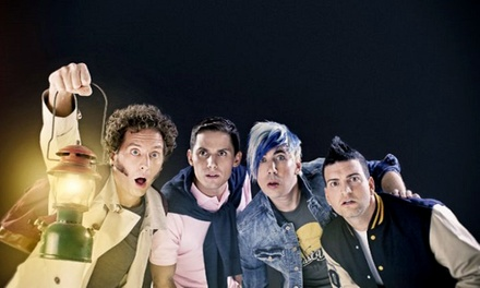 Marianas Trench with Very Special Guests Walk Off The Earth on Friday, March 11, at 7 p.m.