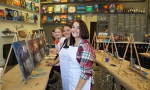 Up to 20% Off Painting Class at Whimsy Paint and Sip Northfield at Whimsy Paint and Sip, plus 6.0% Cash Back from Ebates.