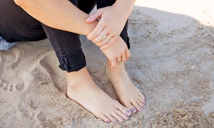Nails Naturally: Pamper Me or Relaxology Deluxe Mani-Pedi Package at Nails Naturally (Up to 52% Off)