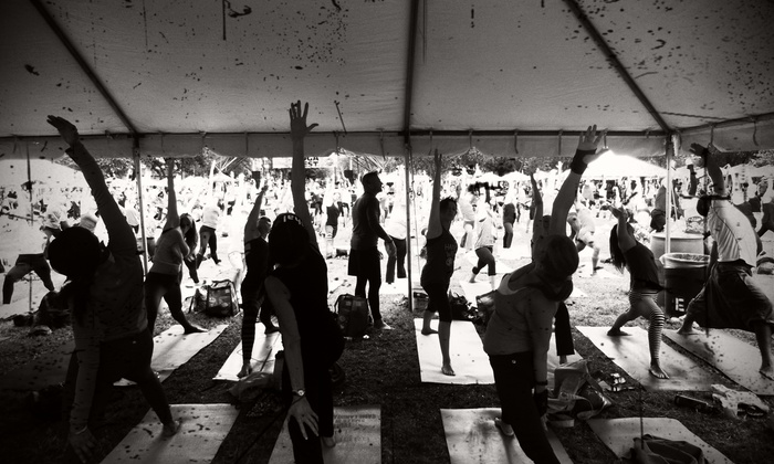 Health Bar Fitness - Royal Palm Beach: Four Yoga Classes at Health Bar Fitness (65% Off)